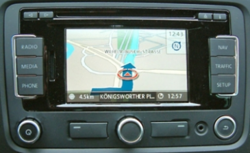 CD Map Volkswagen RNS-310 Blaupunkt FX 4.0
